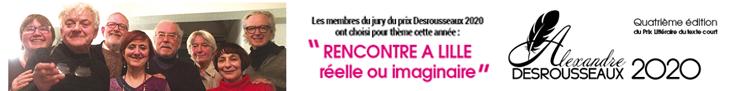Prix Alexandre Desrousseaux 2020
