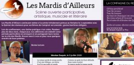 LES MARDIS D'AILLEURS SEPTEMBRE