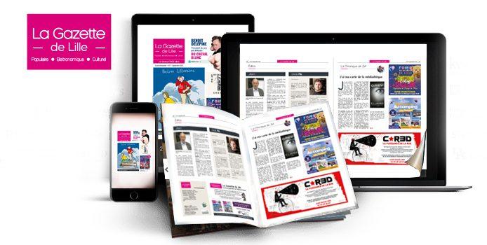 Lire la gazette en flipbook